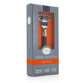 The Art Of Shaving Chrome Collection Power Razor - Without Battery  1pc