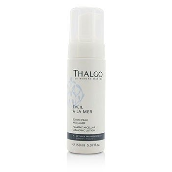 Thalgo Eveil A La Mer Foaming Micellar Cleansing Lotion - For All Skin Types (Salon Size)  150ml/5.07oz