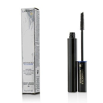 Lancome Definicils Mascara Waterproof # 01 Black (US Version)  5g/0.17oz