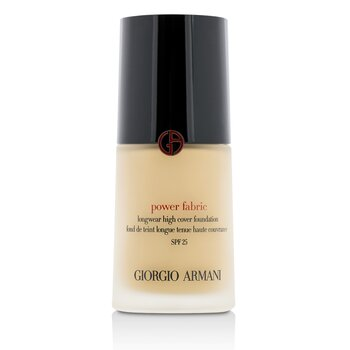 Giorgio Armani Power Fabric Longwear High Cover Foundation SPF 25 - # 3 (Fair, Rosy)  30ml/1oz