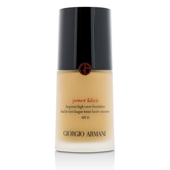 Giorgio Armani Power Fabric Longwear High Cover Foundation SPF 25 - # 5 (Light, Neutral)  30ml/1.01oz