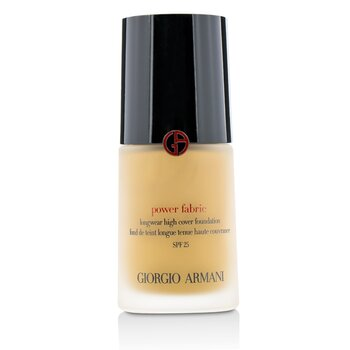 Giorgio Armani Power Fabric Longwear High Cover Foundation SPF 25 - # 6 (Medium, Warm)  30ml/1oz