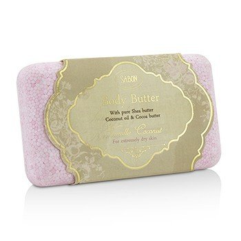 Sabon Body Butter (For Extremely Dry Skin) - Vanilla Coconut  100g/3.53oz