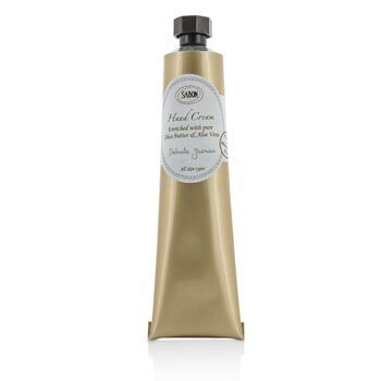 Sabon Hand Cream - Delicate Jasmine (Tube)  50ml/1.66oz