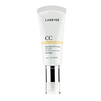 Laneige Water Base CC Cream SPF 36 PA++ Pure Beige (Manufacture Date: 11/2014)  40ml/1.3oz