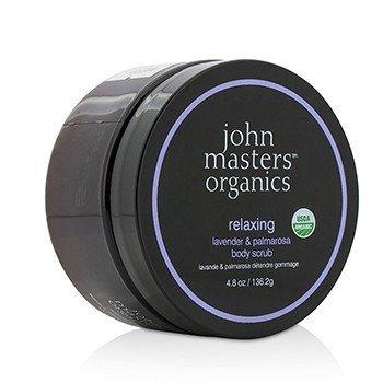 John Masters Organics Lavender & Palmarosa Exfoliante Corporal Relajante  136.2g/4.8oz