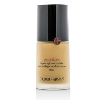 Giorgio Armani Power Fabric Longwear High Cover Foundation SPF 25 - # 5.5 (Medium, Neutral)  30ml/1.01oz