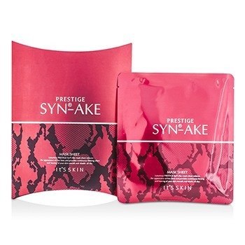 It's Skin Prestige Syn-Ake Mask Sheet (תאריך ייצור: 12/2014)  5x25g/0.8oz