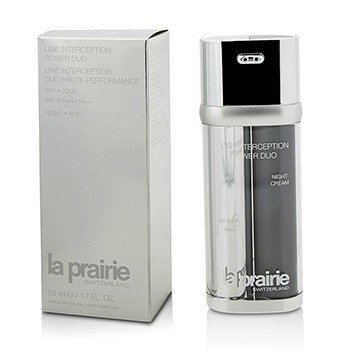 La Prairie Line Interception Power Duo - Day Cream SPF30 PA+++ & Night Cream  2x25ml/0.85oz