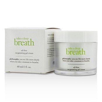 Philosophy Take A Deep Breath Oil-Free Oxygenating Gel Cream  60ml/2oz