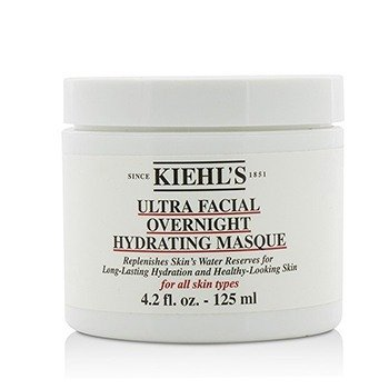 Kiehl's Ultra Facial Overnight Hydrating Masque - For All Skin Types (Packaging Slightly Damaged)  125ml/4.2oz