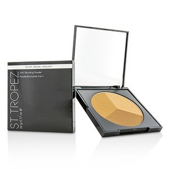 St. Tropez 3 in 1 Bronzing Powder (Sculpt, Bronze & Highlight)  22g/0.77oz