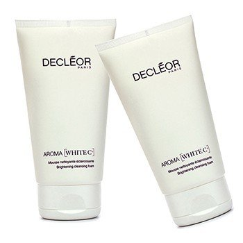 Decleor Aroma White C+ Brightening Cleansing Foam Duo Pack  2x150ml/5oz