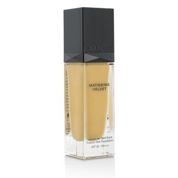 Givenchy Matissime Velvet Radiant Mat Fluid Foundation SPF 20 - #06 Mat Gold  30ml/1oz