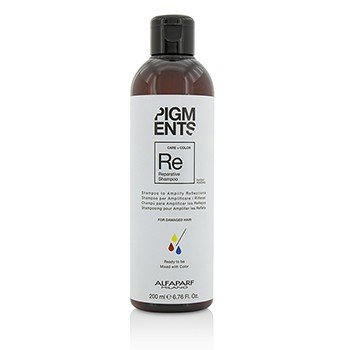 AlfaParf Szampon do włosów Pigments Reparative Shampoo (For Damaged Hair)  200ml/6.76oz