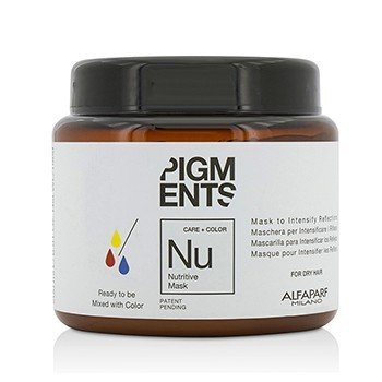 AlfaParf Pigments Mascarilla Nutritiva (Para Cabello Seco)  200ml/6.76oz