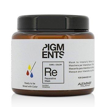 AlfaParf Pigments Mascarilla Reparadora (Para Cabello Dañado)  200ml/6.76oz