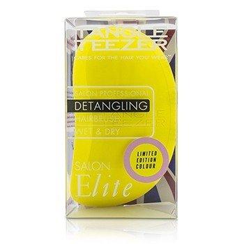 Tangle Teezer Salon Elite Professional Detangling Hair Brush - # Lemon Sherbet (For Wet & Dry Hair)  1pc