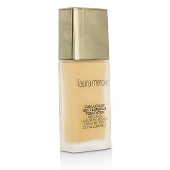 Laura Mercier Candleglow Soft Luminous Foundation - # 2W2 Butterscotch (Unboxed)  30ml/1oz