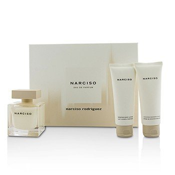 ナルシソロドリゲス  Narciso Coffret: Eau De Parfum Spray 90ml/3oz + Body Lotion 75ml/2.5oz + Shower Cream 75ml/2.5oz  3pcs