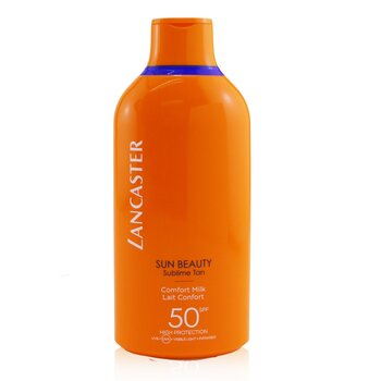 Lancaster Sun Beauty Velvet Fluid Milk SPF50  400ml/13.5oz