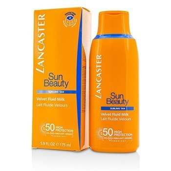 Lancaster Sun Beauty Velvet Fluid Milk SPF50  175ml/5.9oz