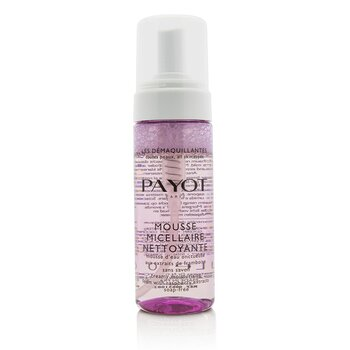 Payot Les Demaquillantes Mousse Micellaire Nettoyante - Creamy Moisturising Foam with Raspberry Extracts  150ml/5oz