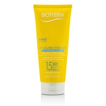 Biotherm Mleczko do opalania Lait Solaire Hydratant Anti-Drying Melting Milk SPF 15 - For Face & Body  200ml/6.76ml