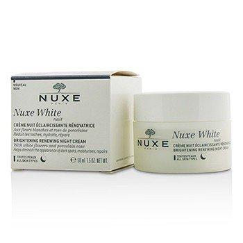 Nuxe Nuxe White Nuit Crema de Noche Renovadora Iluminante - Todo Tipo de Piel  50ml/1.5oz