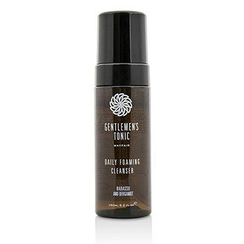 Gentlemen's Tonic Babassu And Bergamot Daily Foaming Cleanser  150ml/5.2oz