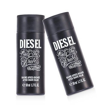 Diesel Only The Brave Tattoo Bálsamo Para Después de Afeitar Dúo Pack (Sin Caja)  2x50ml/1.7oz