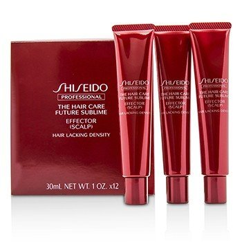 Shiseido The Hair Care Future Sublime Effector - Scalp (Hair Lacking Density)  12x30ml/1oz