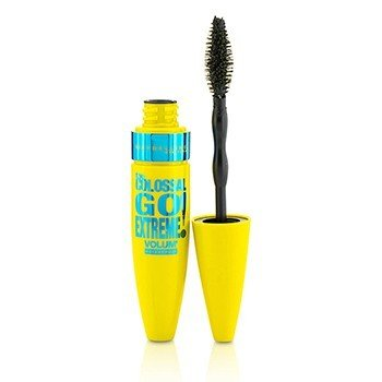 Maybelline Volum' The Colossal Go Extreme Waterproof Mascara מסקרה עמידה במים - # Black  9.5ml/0.32oz