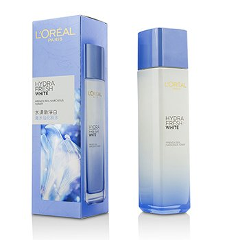 L'Oreal Hydra Fresh White Sea Narcissus Toner  130ml/4.3oz