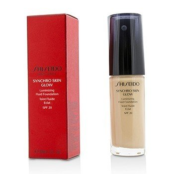 Shiseido Synchro Skin Glow Luminizing Fluid Foundation SPF 20 - # Rose 1  30ml/1oz