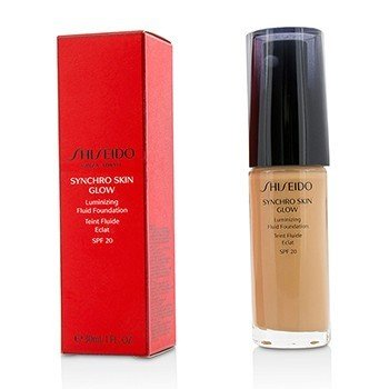 Shiseido Płynny podkład do twarzy Synchro Skin Glow Luminizing Fluid Foundation SPF 20 - # Rose 4  30ml/1oz