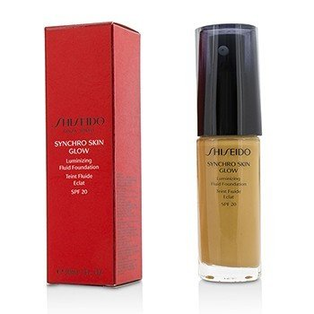 Shiseido Synchro Skin Glow Luminizing Fluid Foundation SPF 20 - # Golden 5  30ml/1oz