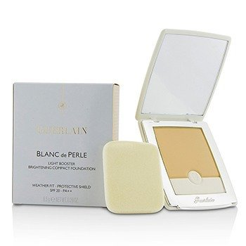 ゲラン Blanc De Perle Light Booster Brightening Compact Foundation SPF 20 - # 01 Beige Pale  8.5g/0.29oz