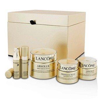 Lancôme Absolue Precious Cells Set: Repairing Care SPF 15 50ml&15ml + Night Cream 15ml + Oleo-Serum 5ml + Eye Concentrate 5ml  5pcs