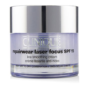 クリニーク Repairwear Laser Focus Line Smoothing Cream SPF 15 - Very Dry To Dry Combination  50ml/1.7oz