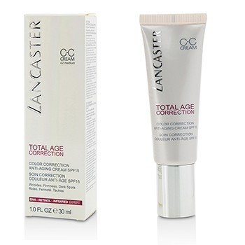 Lancaster Total Age Correction Crema Anti-Envejecimiento Correctora de Color SPF15 - #02 Medium  30ml/1oz