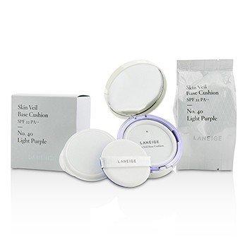 Laneige Skin Veil Base Cushion SPF 22 - #No. 40 Light Purple  2x15g/0.5oz