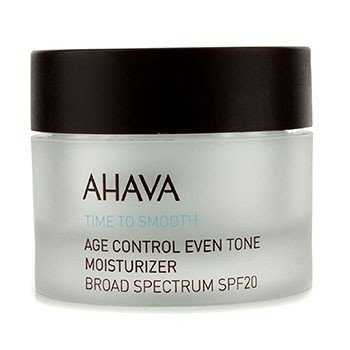 Ahava Time To Smooth Age Control Even Tone Moisturizer SPF 20 (Exp. Date 12/2017)  50ml/1.7oz
