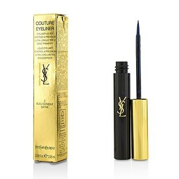 Yves Saint Laurent Couture Delineador de Ojos Líquido - # 2 Bleu Iconique Satine  2.95ml/0.09oz