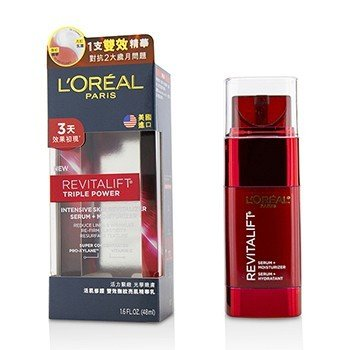 L'Oreal New Revitalift Triple Power Suero Revitalizante de Piel Intensivo + Hidratante  48ml/1.6oz