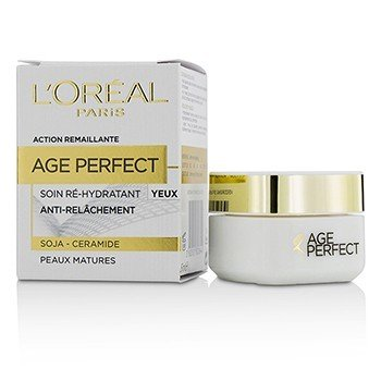 歐萊雅 Age Perfect Re-Hydrating Eye Cream - For Mature Skin  15ml/0.5oz