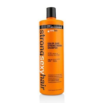Sexy Hair Concepts Strong Sexy Hair Champú Fortalecedor Nutritivo Anti-Rotura  1000ml/33.8oz