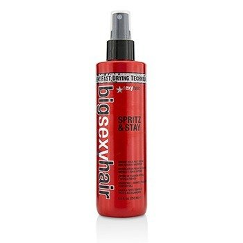 Sexy Hair Concepts Big Sexy Hair Spritz & Stay Spray de Cabello Agarrado Intenso, Secado Rápido, Sin Aerosol  250ml/8.5oz