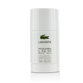 Lacoste Eau De Lacoste L.12.12 Blanc Deodorant Stick  75ml/2.4oz