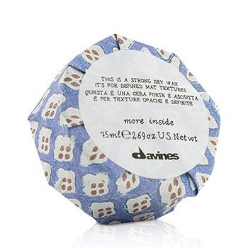 Davines More Inside This Is A Strong Dry Wax (For Defined Mat Textures)  75ml/2.69oz